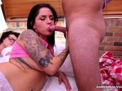 Orgasmes en pagailles pour une double pénétration bien hard !  (vidéo exclusive)