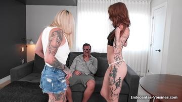 Double pénétration brutale pour Lena, 26ans !  (vidéo exclusive)